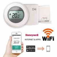 Termostat Wireless Honeywell Round Y87RF control WI-FI Internet