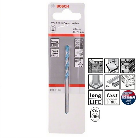 Burghiu Bosch CYL-9 Multifunctional 4x40x75mm Multi Construct
