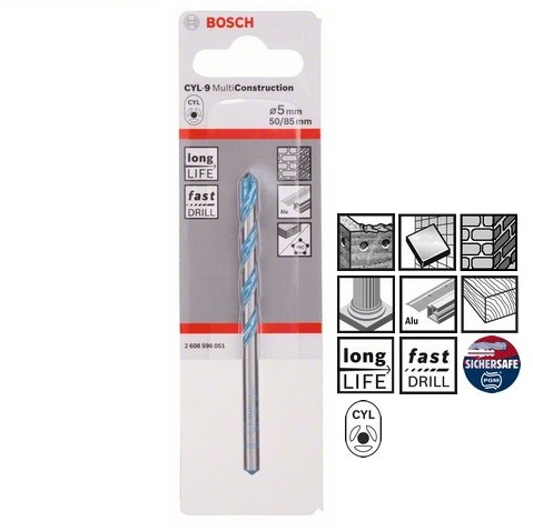 Burghiu Bosch CYL-9 Multifunctional 5x40x85mm Multi Construct