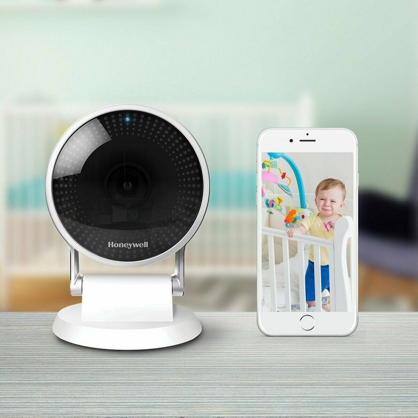 Smart Camera IP Wi Fi Securitate Full HD 1080 Honeywell Lyric C2
