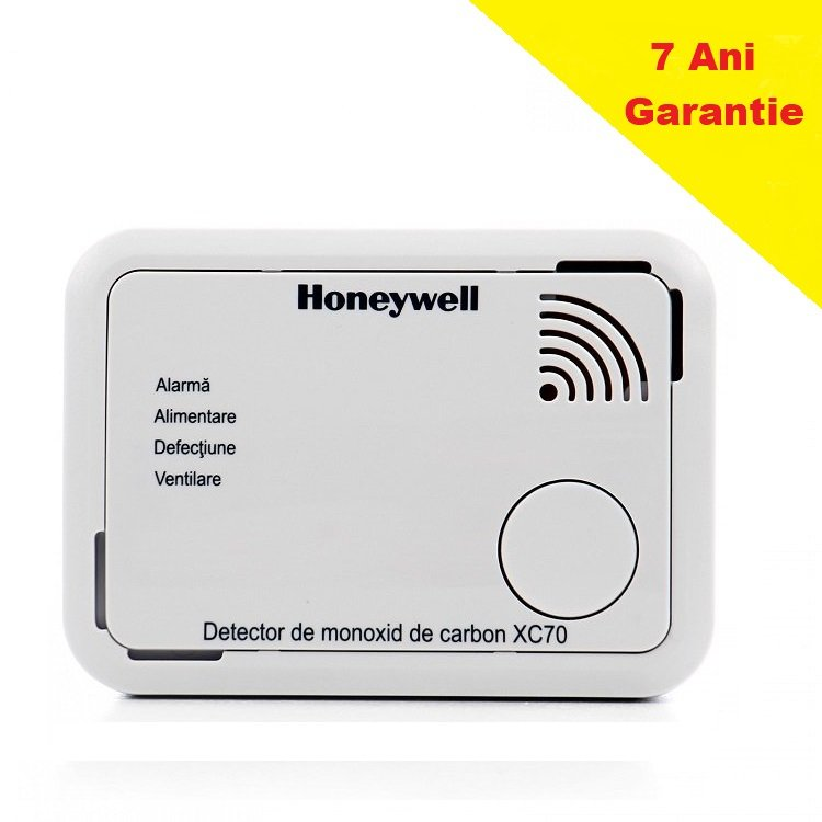 Detector Monoxid de Carbon Honeywell XC70 Wireless 7Ani Garantie