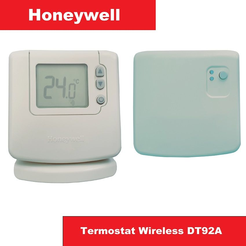 Termostat Honeywell Wireless DT92A1004 Manual, Fara Programare