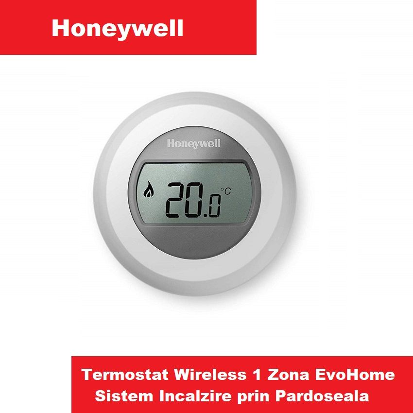 Termostat Wireless Honeywell T87RF 1zona incazire in pardoseala